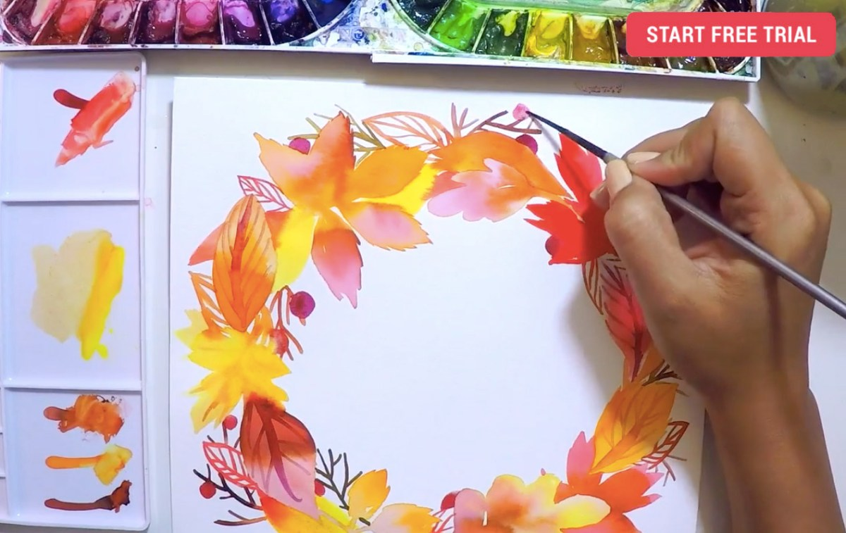 Amarilys Henderson: simple & lovely watercolor lessons