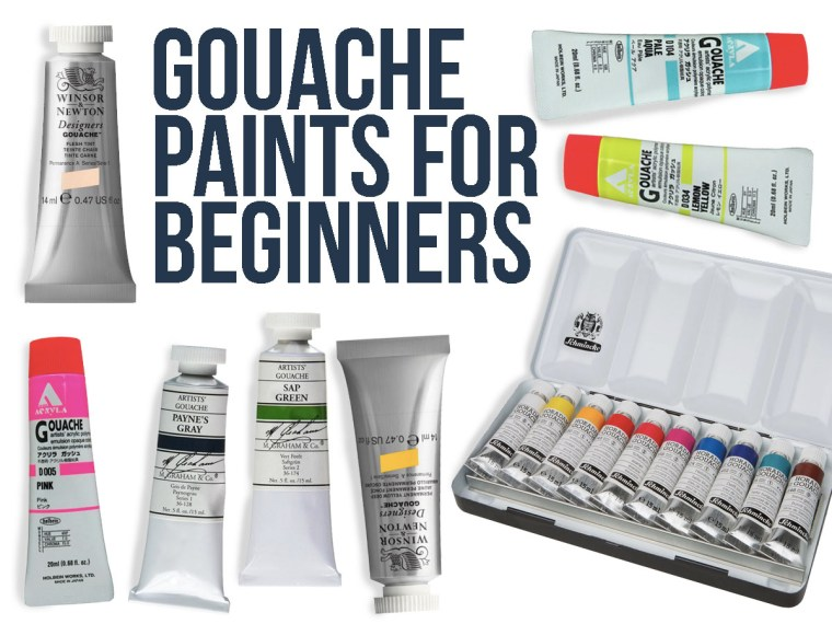 Best Gouache Paint Brands & Gouache Basics