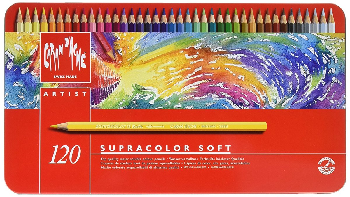 Best Colored Pencil Brands for Artists & Tips for Using Colored Pencils: Caran dAche Supracolor
