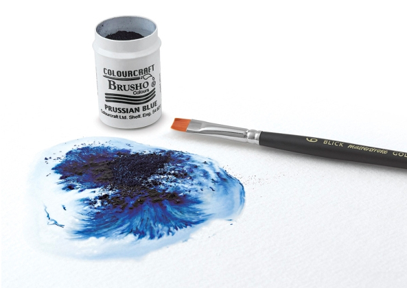 Watercolor Pigment Crystals: Brusho, Color Burst, Lindy's
