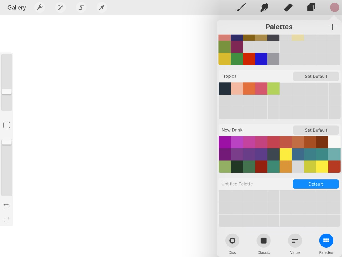 How to Make Color Palettes for iPad Procreate