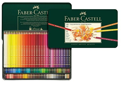 Best Colored Pencil Brands for Artists & Tips for Using Colored Pencils: Faber Castell polychromos