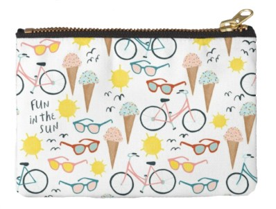 Summer Pouches for Picnics or a Day at the Beach