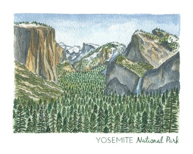 National Park Paintings