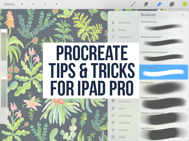 How to Use Procreate iPad Pro: Tips & Tricks for Using Procreate for iPad