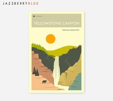 National Park Prints - Yellowstone