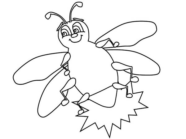 firefly coloring page # 63
