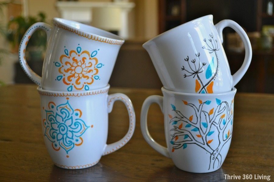 DIY Doodle Mugs Dos Amp Donts Color Made Happy