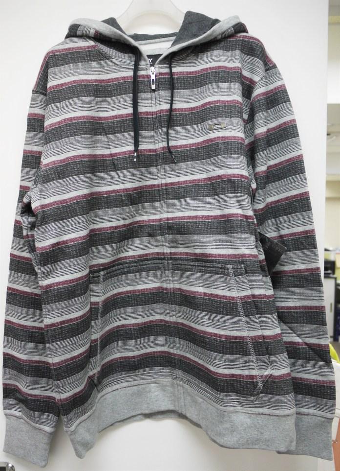 471841au-oakley-grey-marle-pioneer-front-zip-regular-fit-hoodie-m-men-2