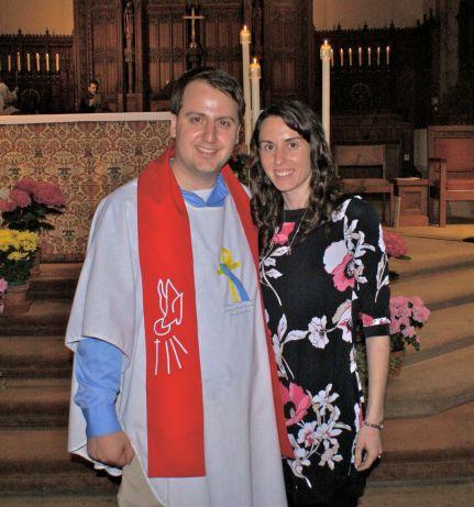 Easter 2014 - Joe's Entrance into the Church