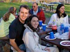 Christie and Joe (Dad, Lisa and Monica)