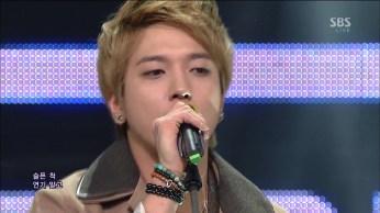 CNBLUE - Coffee Shop, I'm Sorry @SBS Inkigayo gogox2 28