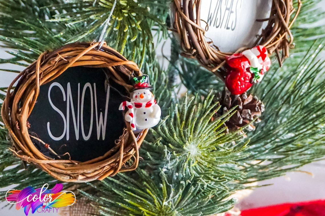 Download Free Christmas SVG And Cricut Ornament Tutorial * Color Me ...