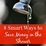 8 Smart Ways to Save Money in the Shower