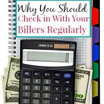 Why You Should Check in With Your Billers Regularly