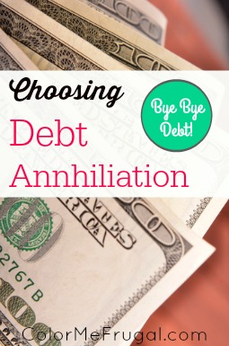 Choosing Debt Annihilation