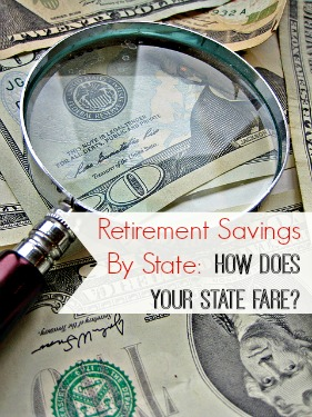 Retirement Savings by State- How's Your State Doing?