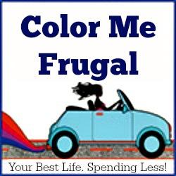 Color Me Frugal updated logo