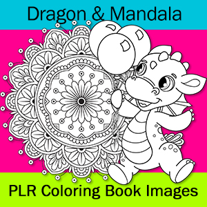 Baby Dragon Coloring Pages Color Me Positive Plr