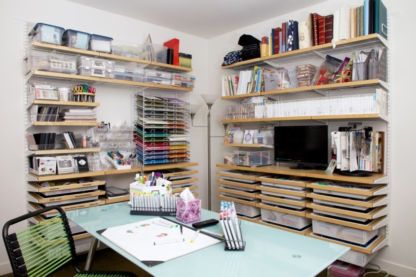 Renee's craft room