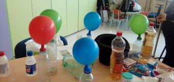 Los globos se inflan solos