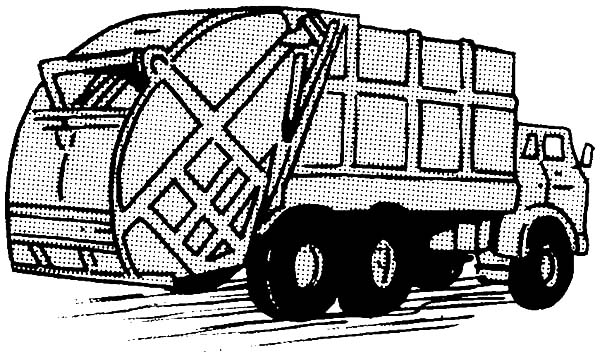 Driving Garbage Truck Coloring Pages Download Print Online Coloring Pages For Free Color Nimbus
