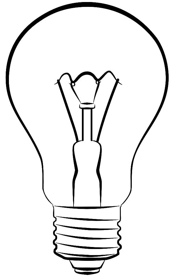 Lamp Coloring Page Download Amp Print Online Coloring