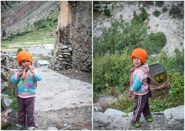 He was walking home alone in Charang village, Kinnaur, Himachal