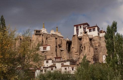 Lamayuru Monastery at sunset