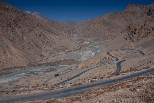 Meandering roads near Pang