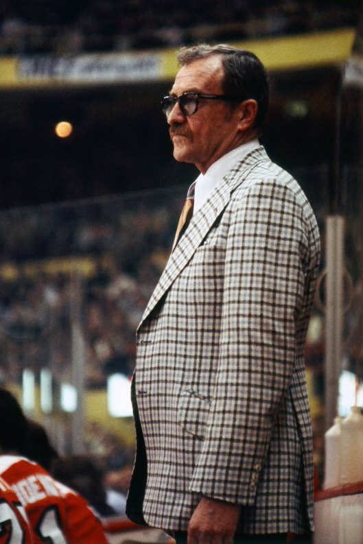 The late Fred Shero guided the Philadelphia Flyers to two Stanley Cups and revolutionized NHL coaching along the way. Will that be enough for a call from the Hall?