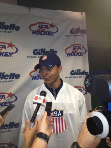 Seth Jones hopes to make the Nashville Predators - then the Olympic team.
