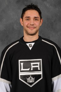 L.A. Kings defenseman Alec Martinez has his name on the Stanley Cup.