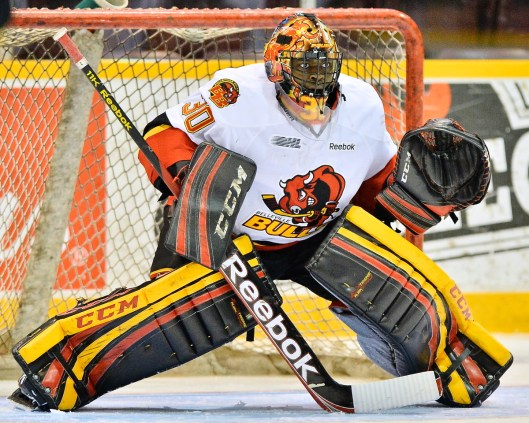Malcolm Subban  moves from Bruins training camp to its AHL farm team's camp (Photo: Terry Wilson/OHL)
