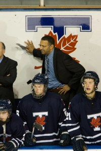 Paris hopes to see more coaches like the University of Toronto's Darren Lowe.