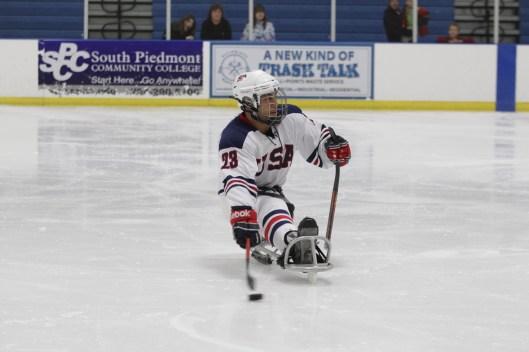 Roman in action. (Photo/USA Hockey, Bill Wippert)