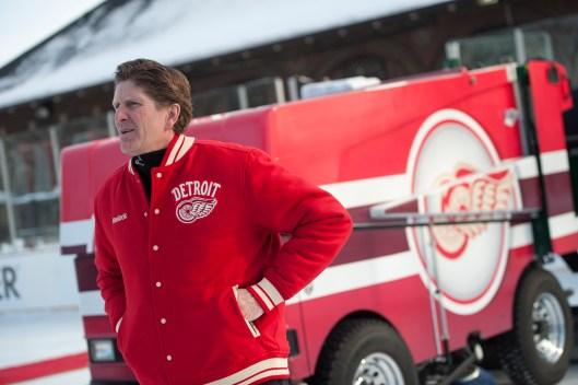 They like Mike. Several NHL teams are expected to bid for Red Wings Coach Mike Babcock's services. (Photo Courtesy of The Detroit News/David Guralnick).