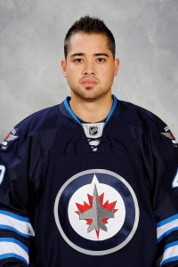 Winnipeg Jets forward Devin Setoguchi.