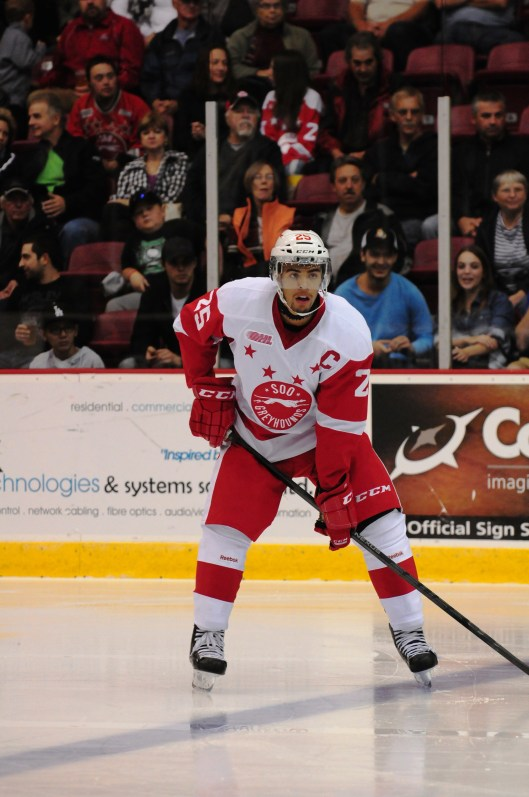 Nurse is captain of the OHL's Sault Ste. Marie Greyhounds.