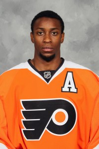 Flyers' Wayne Simmonds.