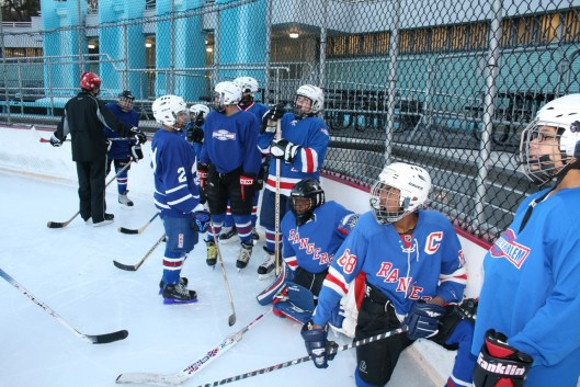 Ice Hockey in Harlem came up a little short in its fundraising tilt against Philly's Ed Snider Youth Hockey Foundation. But there's always next year.