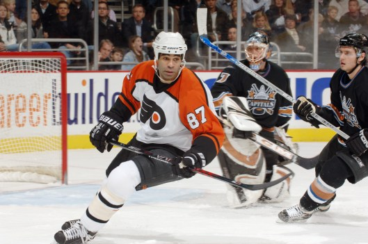 Donald Brashear played for five NHL teams, including the Philadelphia Flyers (Photo/ Mitchell Layton/Getty Images via Philadelphia Flyers)