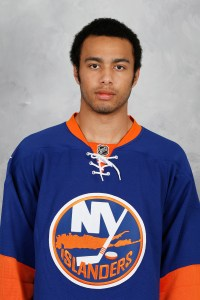 Josh Ho-Sang blames himself for oversleeping on Day 1 of Isles training camp.