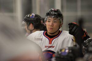 Ohio is Japan's Yushiro Hirano's new hockey home (Photo/Bill Paterson).