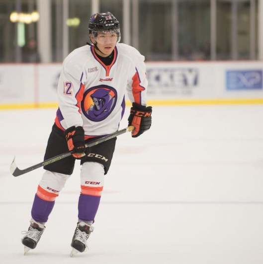Hirano is one of the Phantoms' top forwards and skates on the power play (Photo/Bill Paterson).