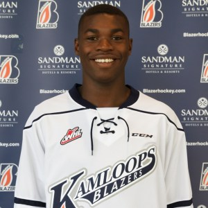 Jermaine Loewen moved from Jamaica to Manitoba, Canada, when he was five (Photo/Kamloops Blazers).