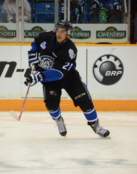 Saint John Sea Dogs forward Mathieu Joseph confounded opposing QMJHL teams, scoring 33 goals in 2015-16.