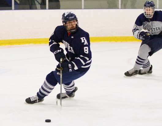 New York Islanders draftee Andong Song wants to play in the NHL - and in the 2022 Winter Olympics in Beijing (Photo/David Fricke/Phillips Academy).