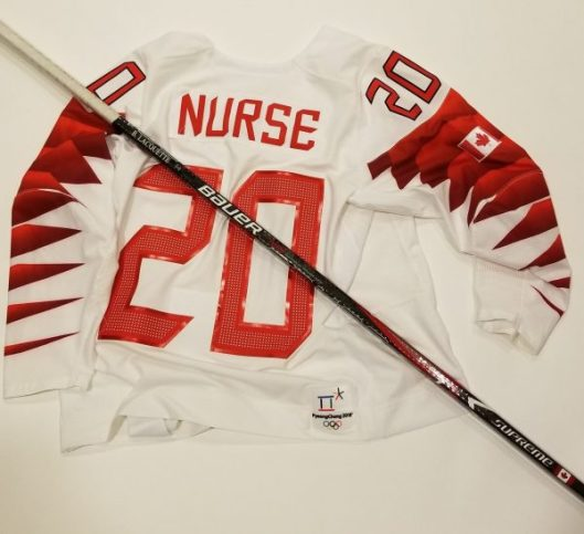 official photos dfb74 e9ad5 Sarah Nurse's jersey, Brigette Lacquette's stick get call ...