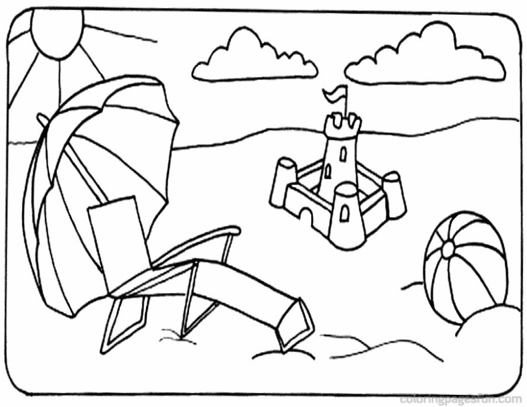 Beach ball coloring page - Print. Color. Fun! | 800x1035